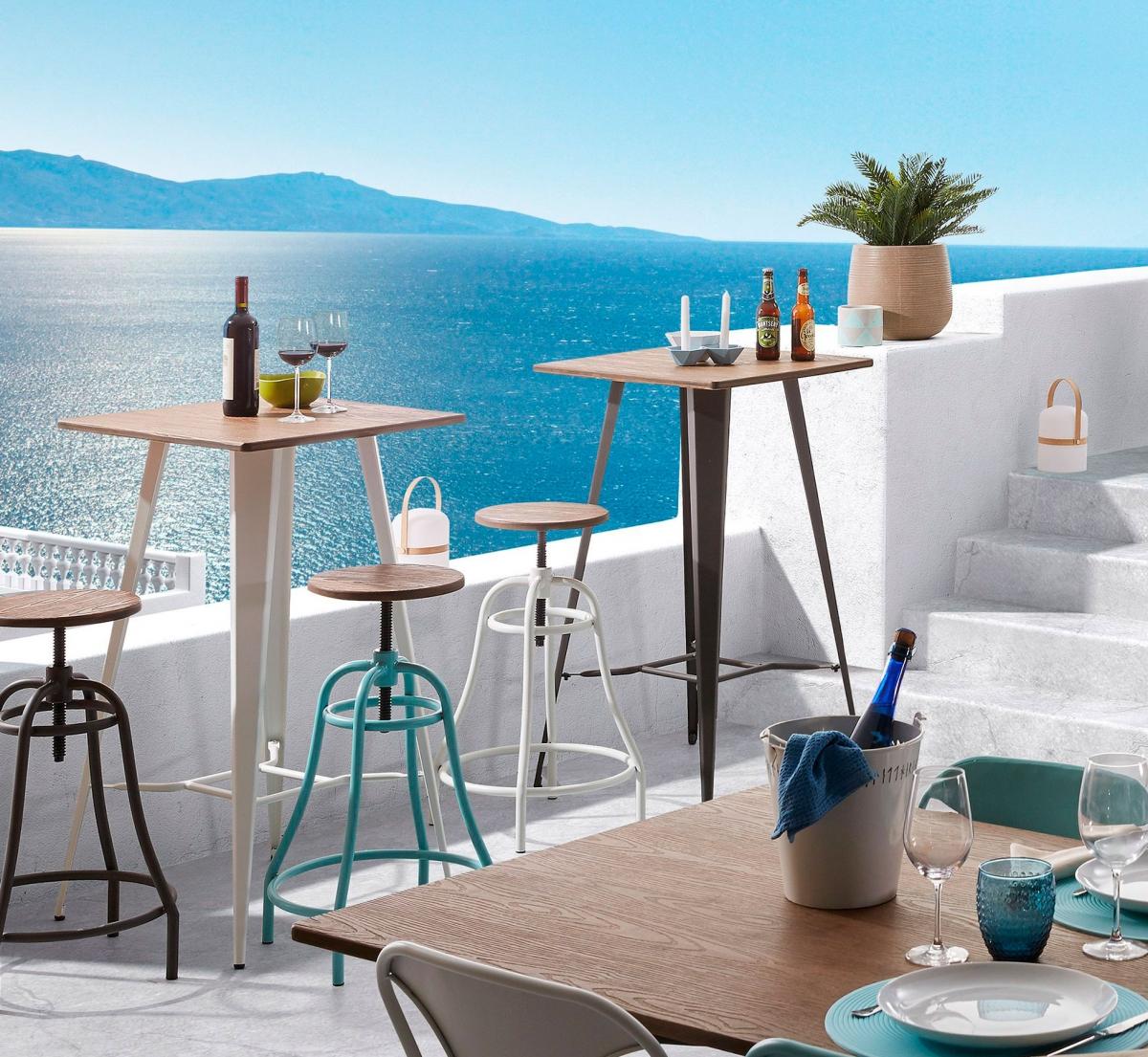 Обустройство террасы ресторана в средиземноморском стиле