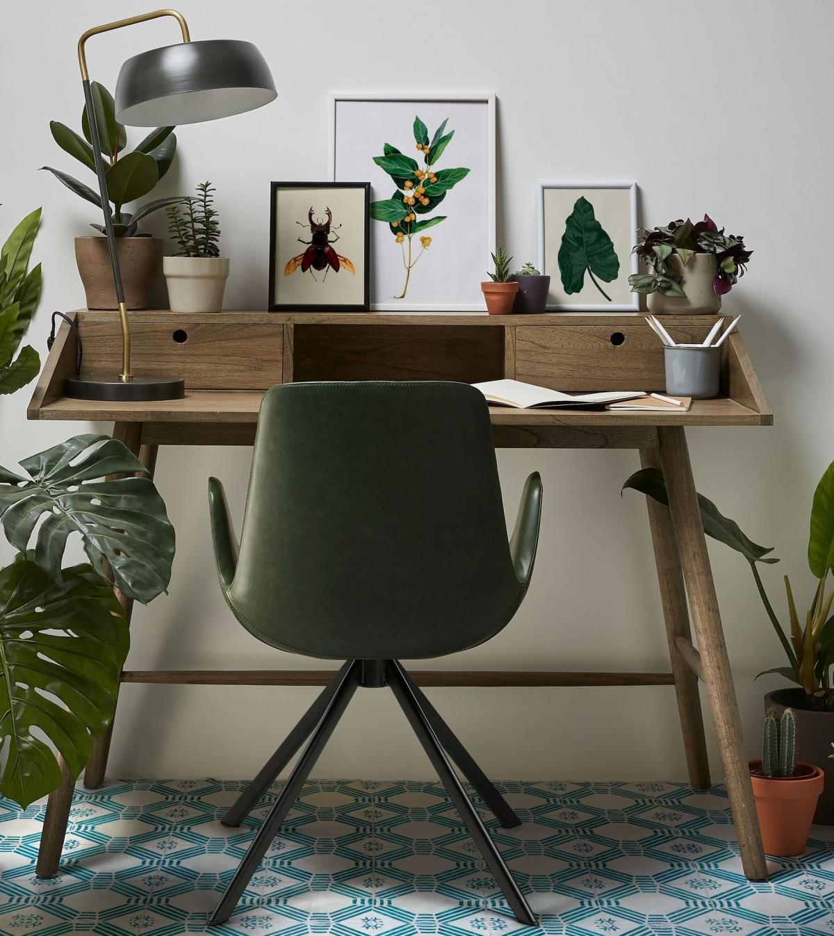 Рабочий кабинет в эко-стиле