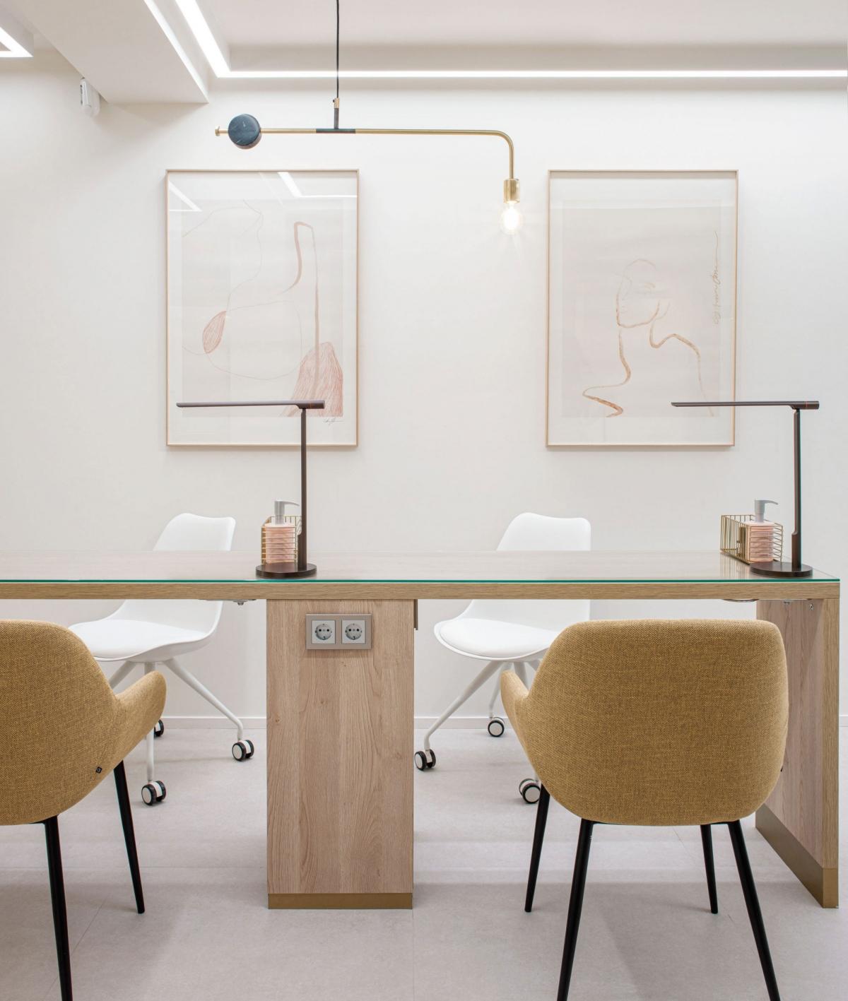 Дизайн офисного интерьера для приема клиентов
