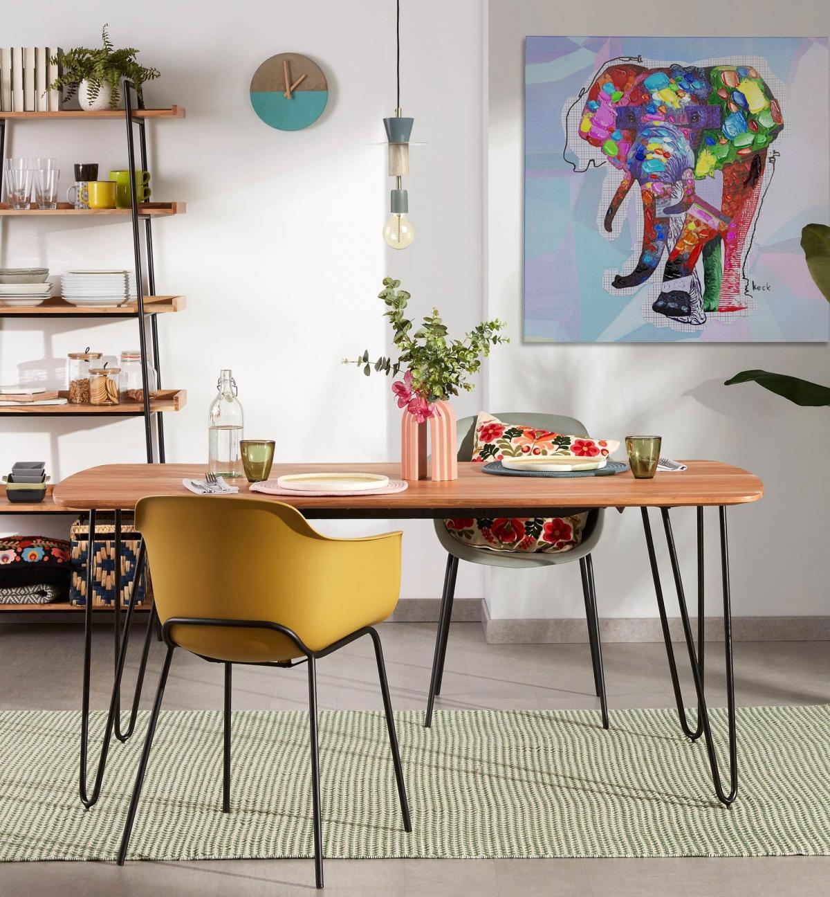 Живописный авангард в вашей столовой