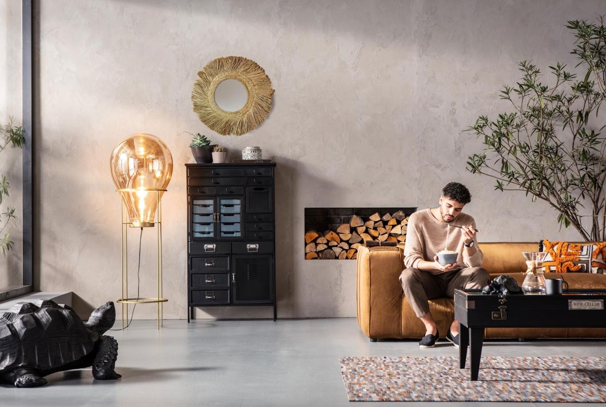 Креативный дизайн гостиной для молодых и оригинальных