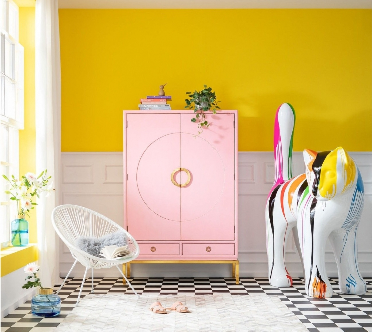 Детская комната для Алисы в Стране чудес