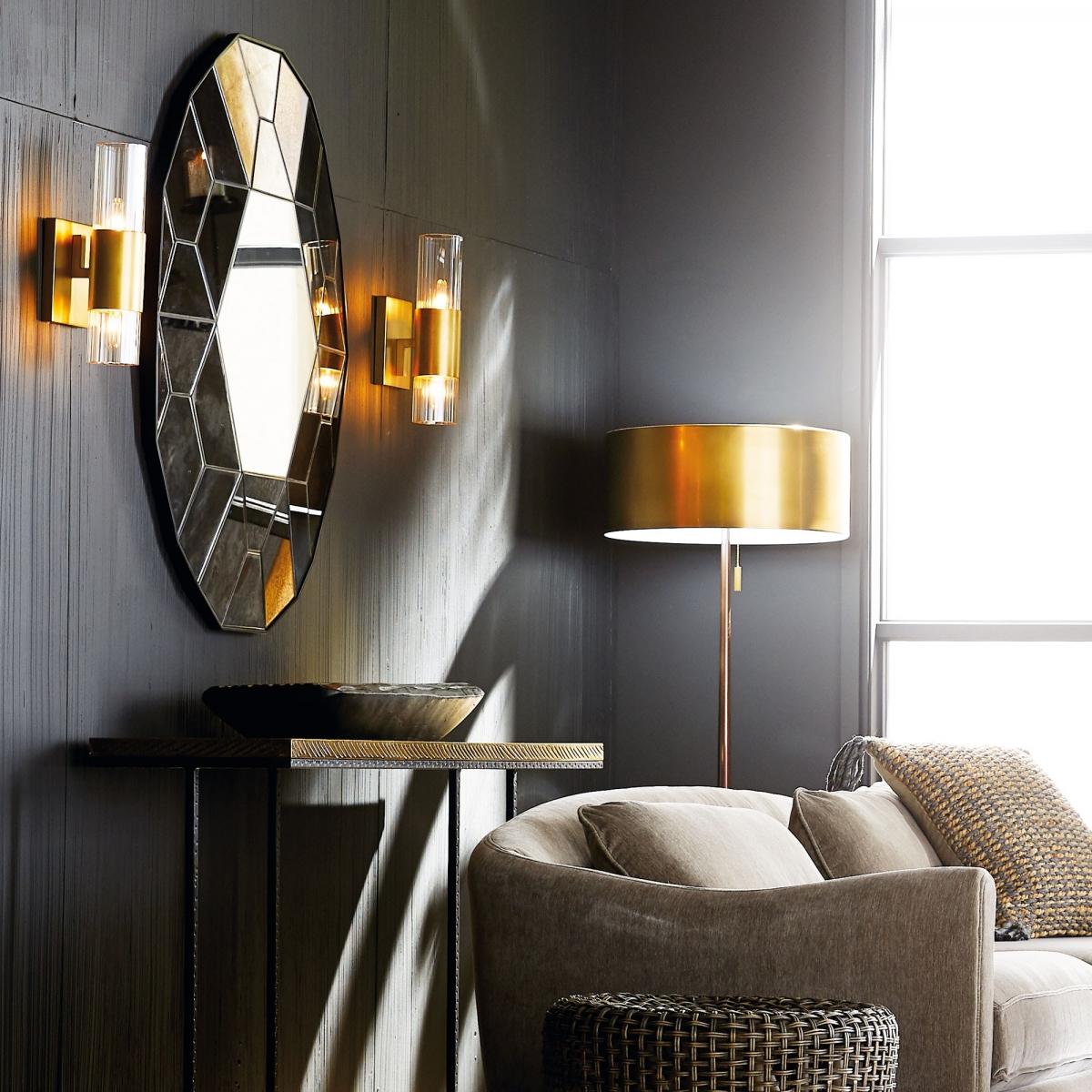 Эксклюзивный, дорогой дизайн гостиной