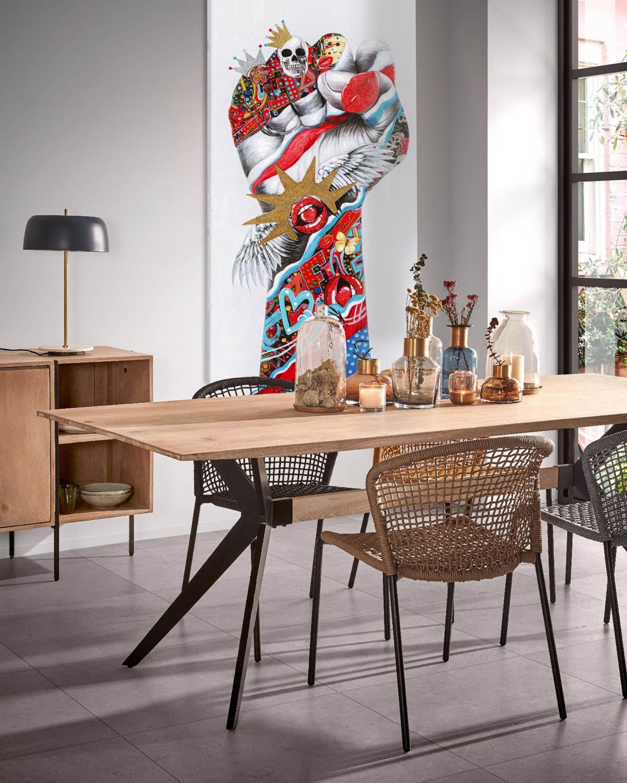 Экспрессивно и стильно: столовая, в которой хочется проводить время