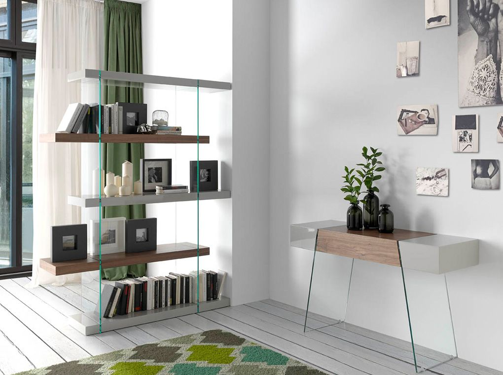 Стильный интерьер для зонирования гостиной или холла