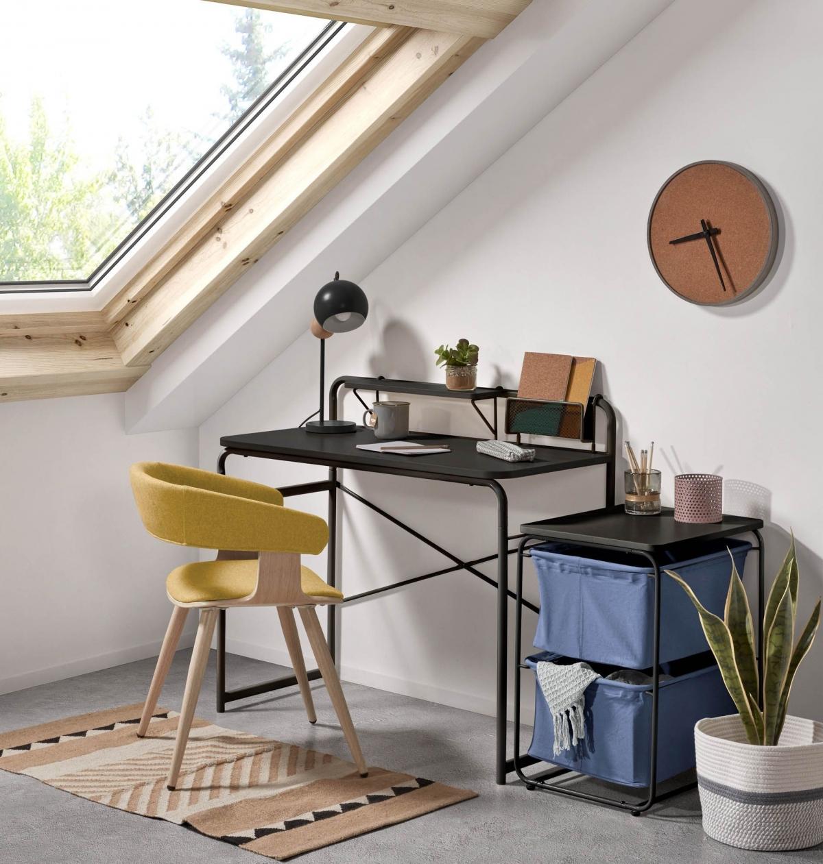 Удобный, современный и стильный рабочий уголок для любителей продуктивного труда