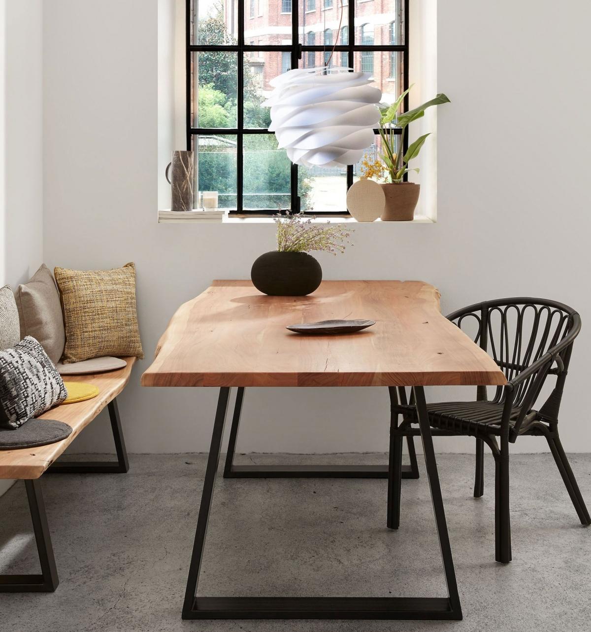 Эко-стиль для столовой: уют, простота, дизайнерские находки