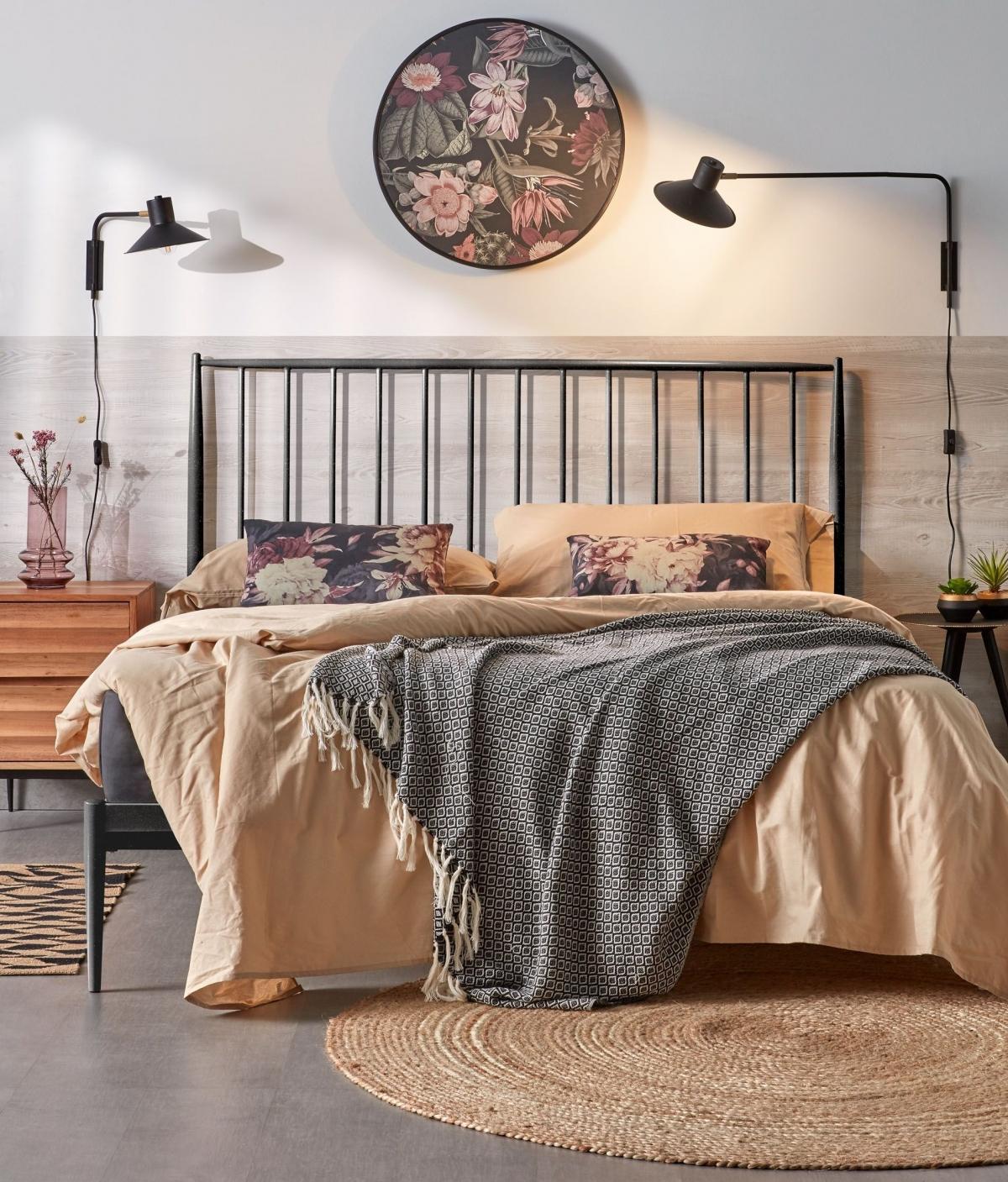 Загадочная спальня для безупречного комфорта