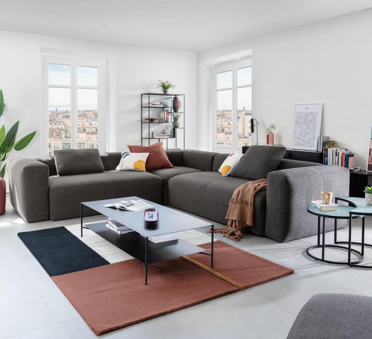 Абсолютный комфорт в просторной гостиной