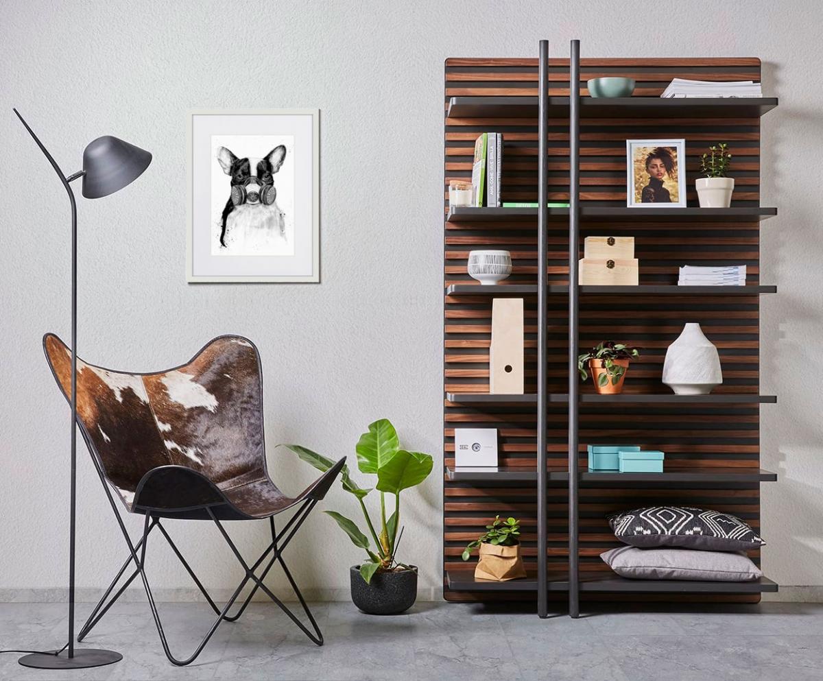 Мужская концепция стильной комнаты отдыха