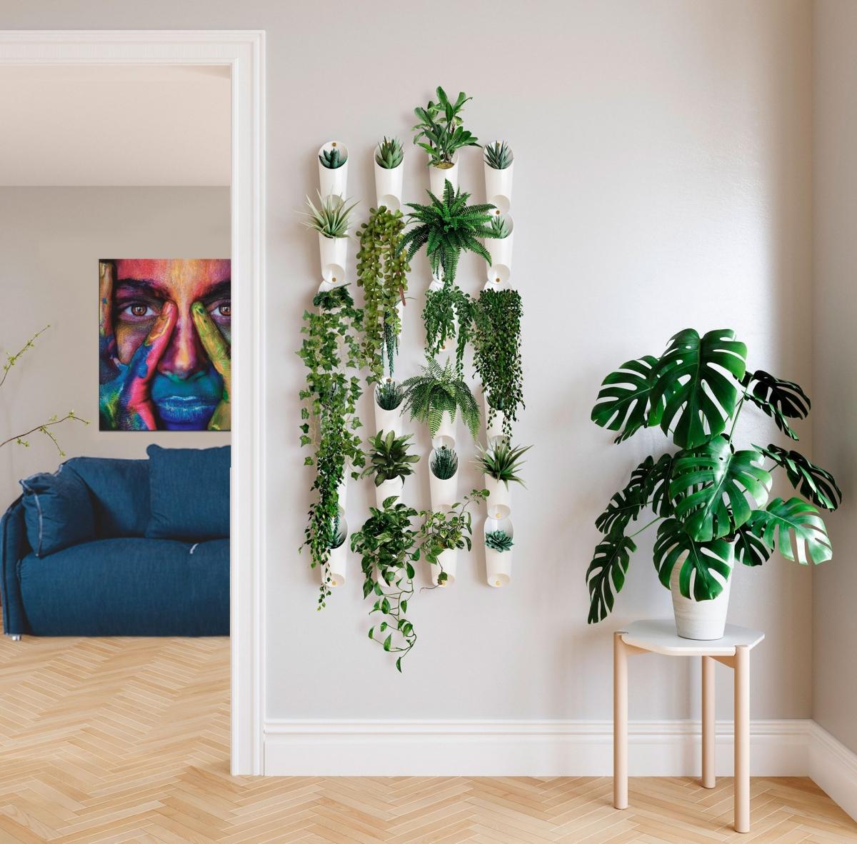 Как оригинально оформить стену квартиры