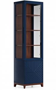 Узкая витрина Case 58X45X212 CM