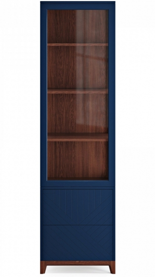 Узкая витрина Case 58X45X212 CM 2