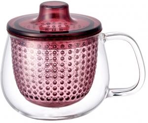 Кружка - чайник Unimug 350 ml розовая