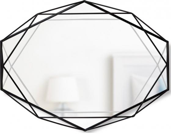 Зеркало настенное prisma 43X57X9 CM черное 1