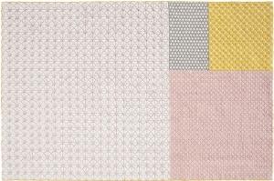 Шерстяной ковёр ручной работы Silai 258X171 CM розовый