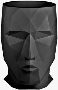 Кашпо в форме головы Adan 49X70X68 CM черный