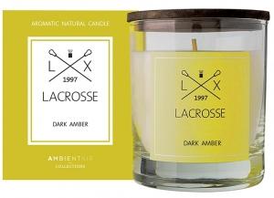 Свеча ароматическая в стекле Lacrosse Amber 40 часов горения