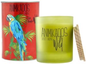 Свеча ароматическая Parrot цитрусовый wild 40 часов горения