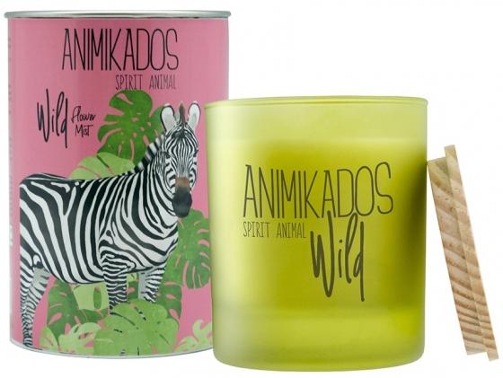 Свеча ароматическая Zebra wild 40 часов горения 1
