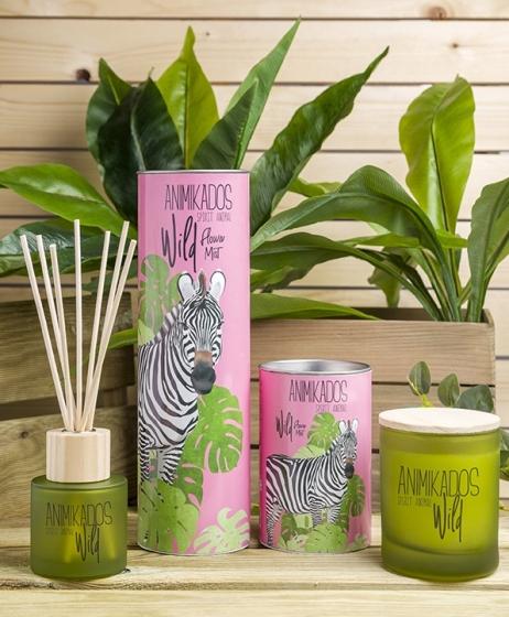 Свеча ароматическая Zebra wild 40 часов горения 2