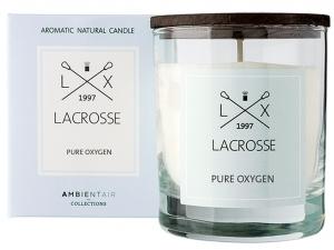Свеча ароматическая в стекле Lacrosse Oxygen 40 часов горения