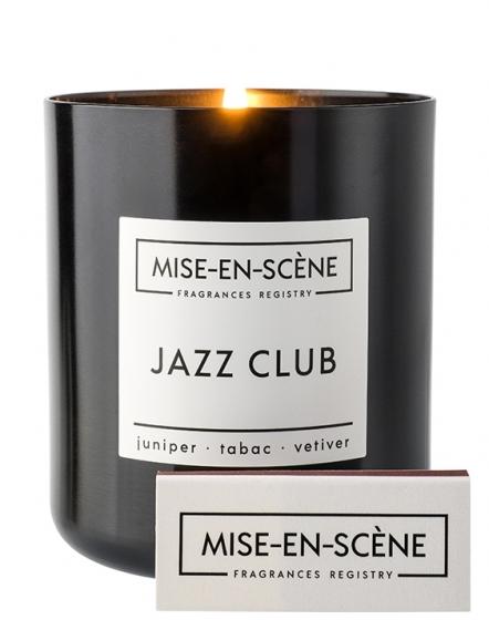 Свеча ароматическая Mise en scene jazz club 50 часов горения 7