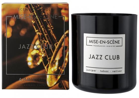 Свеча ароматическая Mise en scene jazz club 50 часов горения 1