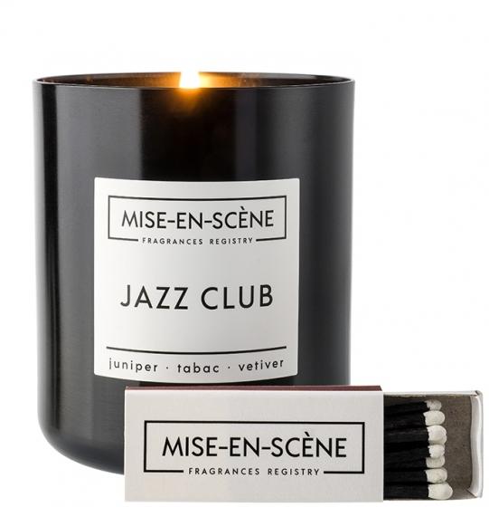 Свеча ароматическая Mise en scene jazz club 50 часов горения 8