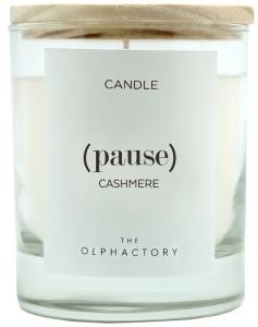 Свеча ароматическая pause-Кашемир, 40 ч