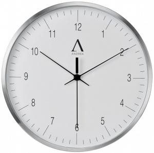 Часы настенные White Aluminium Ø30 CM