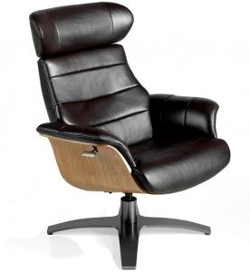 Кожаное кресло реклайнер Nature Life 79X84X100 CM
