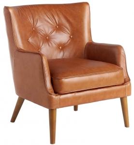 Кожаное кресло на каркасе из ясеня Buffalo 75X80X89 CM