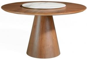 Обеденный стол на каркасе из ореха Nature Life 135X135X75 CM