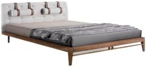 Каркас кровати из ореха Atelier 162X216X110 CM