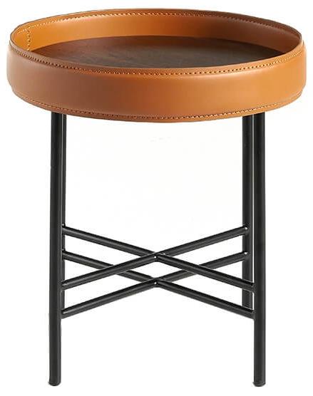 Журнальный столик с бортиком Ring 42X42X45 CM 2