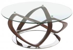 Кофейный столик Cristal 100X100X39 CM