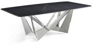 Стильный обеденный стол Rect 240X110X75 CM чёрный