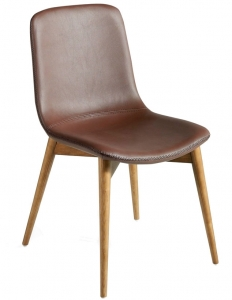 Обеденный стул на каркасе из ореха DC 63X51X87 CM
