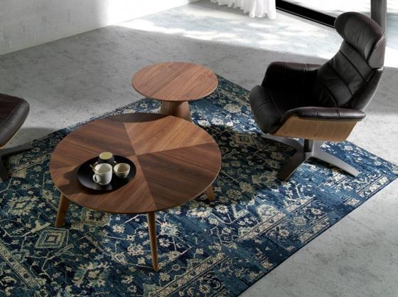 Кофейный столик из ореха ET652 65X65X55 CM 2