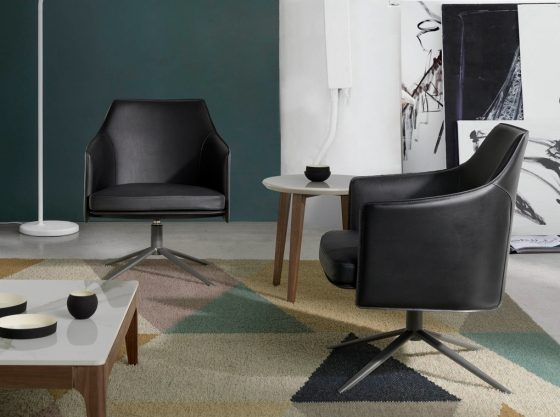 Вращающееся кресло Loft Tendency 70X69X84 CM 5