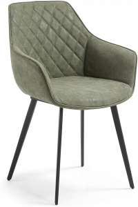 Кресло Aminy зелёное