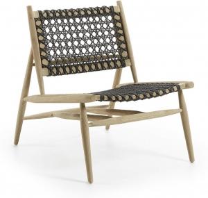 Кресло из тикового дерева Unika 69X79X79 CM