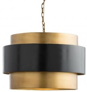 Подвесной светильник Nolan 54X54X37 CM медно чёрный
