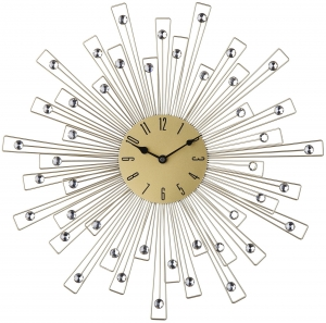 Кварцевые настенные часы Сurb Ø50 CM