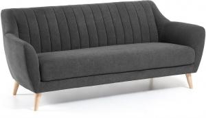 Мягкий диван Off 190X81X81 CM тёмно серый