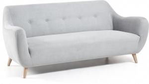 Мягкий диван Opal 192X85X80 CM светло серый
