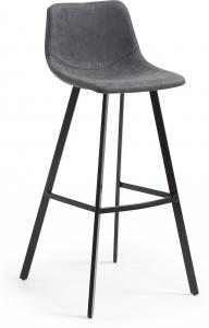 Барный стул Andi 49X53X107 CM серый
