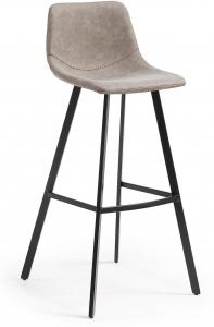 Барный стул Andi 49X53X107 CM серо бежевый