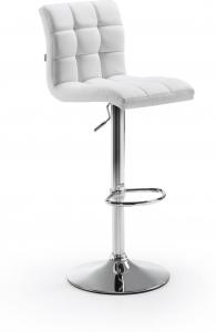 Барный стул Crema 42X48X91-112 CM белый
